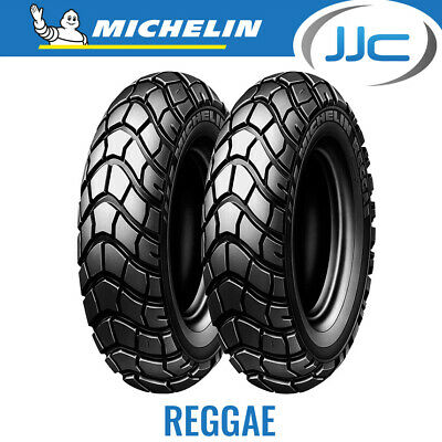 Michelin Reggae 120 90 10 (120/90/10) (57J) TL Scooter Tyre - Bike / MC / Moped
