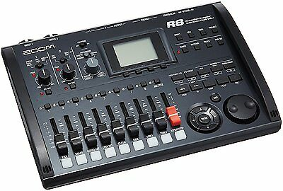 New! ZOOM R8 Multi Track Recorder Audio Interface from Japan Import!