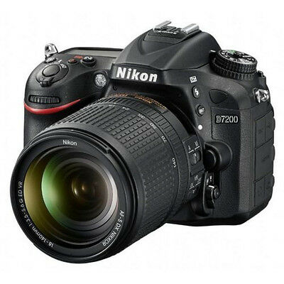 Nikon D D7200 12.1MP Digital SLR Camera - Black (Kit w/ 18-140mm Lens)
