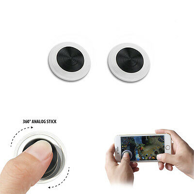 1 pc Untra-thin Mobile Joystick Game Stick Controller For Cell Phone & Tablet