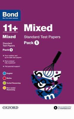 Bond 11+: Mixed: Standard Test Papers Pack 1 by Andrew Baines 9780192740717