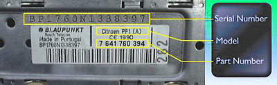 Nissan Radio Decode Code For Blaupunkt Unit Only Read Description Micra Note