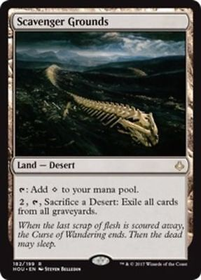 MTG 1x Scavenger Grounds - Hour of Devastation FREE SHIPPING!
