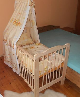gitterbetten betten m bel baby items picclick de. Black Bedroom Furniture Sets. Home Design Ideas