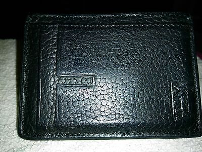 Tumi Leather  Money Clip/Credit Card Holder