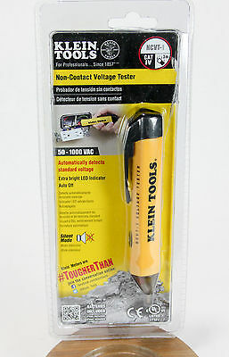 Klein Tools Non-Contact Voltage Tester Electrical Current Meter Detector NCVT1