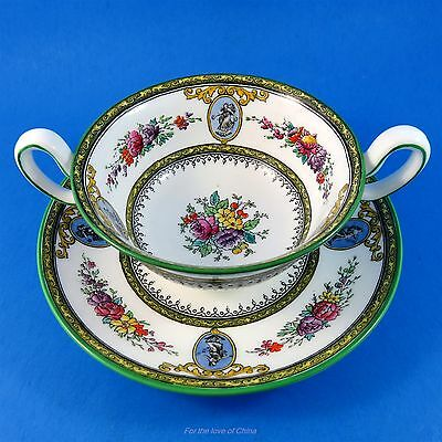 Wedgwood Sheerness W960 Boullion Soup Cup & Saucer