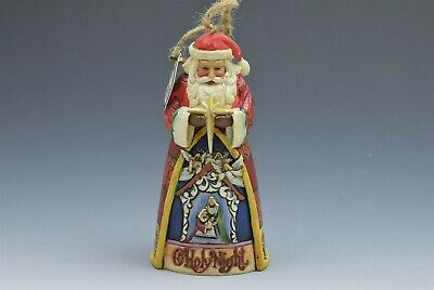 Jim Shore Santa O Holy Night Hanging Ornament 4023461 NIB