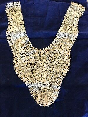 Beautiful Exquisite Vintage Lace High Point Collar