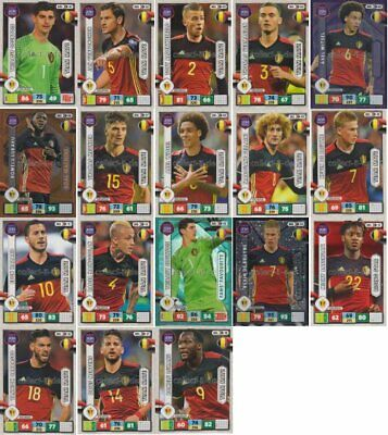 Panini Adrenalyn XL Road to World Cup 2018 - Mannschaft Belgien aussuchen