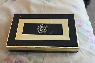 Vintage Max Factor Compact Gift Set - Powder Lipstick and Case