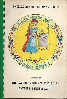 Latrobe Pa 1976 Junior Women's Club Cook Book * Collection Of Personal Recipes