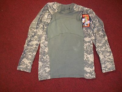 Massif Us Military Army Issue Combat Shirt Acu Size Medium  New