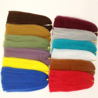 1 or 11 colors 3D EP Silky Fibers Soft And Fluffy EP Synthetic Fly Tying Fiber