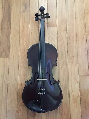 Vintage Nicolaus Amati copy 4/4 violin made in Germany with Pre WWI Coffin Case