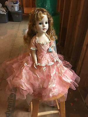 """18"""" Hard Plastic Sweet Sue. American Character Doll In Formal"""