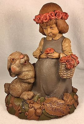 BRIGHT & BEAUTIFUL 1995~Clark/Wolfe Gnome~#6320~Ed #89~COA~Story~Signed by Both