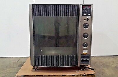Hobart HR7 Electric Commercial Restauant Chicken Rotisserie Oven on Wheels