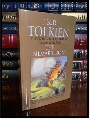 The Silmarillion by J.R.R. Tolkien Brand New Hobbit & Lord Of The Rings Hardback