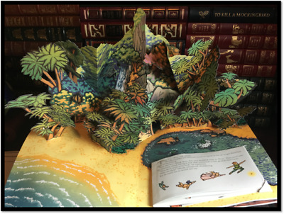 Peter Pan Amazing Collectible Pop Up Book by Sabuda New Deluxe Gift See Pics ◐‿◐