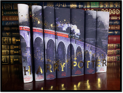 Harry Potter Pop Up New Illustrated Deluxe Collectible Hardcover See Pics ◐‿◐
