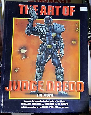 THE ART OF JUDGE DREDD The Movie