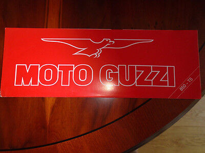 Moto Guzzi 850 T5 brochure undated c1984?? English text