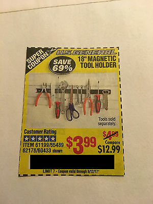"""Coupon to save $ 18"""" Magnetic Tool Holder @ Harbor Freight Tools"""