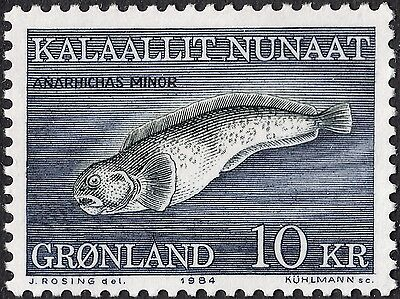 Greenland 1984 10k Spotted Wolffish MUH