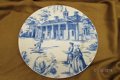 Beautiful Mount Vernon Plate /Andrea by Sadek