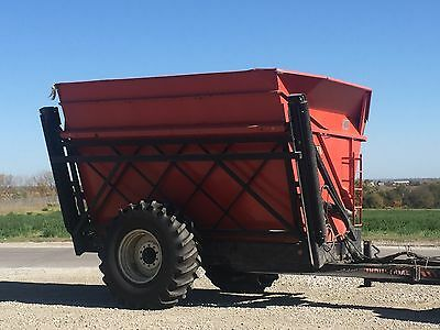 High Dump Cart Wagon Byron 1514 with scales
