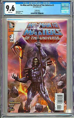 He-Man and the Masters of the Universe #1 CGC 9.6 1:25 Skeletor Variant L