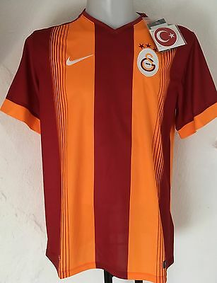 Galatasaray 2014/15 S/s Home Shirt By Nike Adults Size Large Brand New With Tags