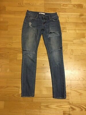 Women's Size 3 RSQ Ibiza Skinny Destroyed Jeans