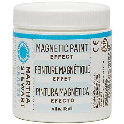 Martha Stewart Magnetic Effect Paint 4 oz  Magnet-Farbe 118 ml