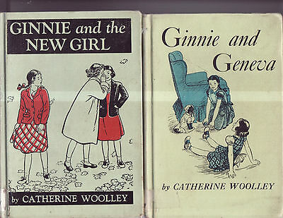VTG LOT 2 Catherine Woolley GINNIE Hardcover Books 1970's