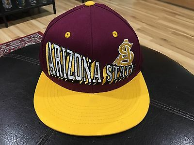 quality design be334 3ffc1 ... coupon code for vintage arizona state university sun devils snapback  hat asu 9a4ab 60ccb ...