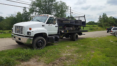 2001 chevy rollback tiltbed diesel tow truck