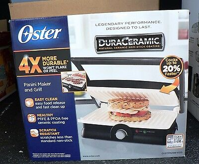 panini maker and grill  brand new oster