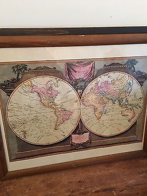 A New Map Of The World, London 1794 Laurie & Whittle