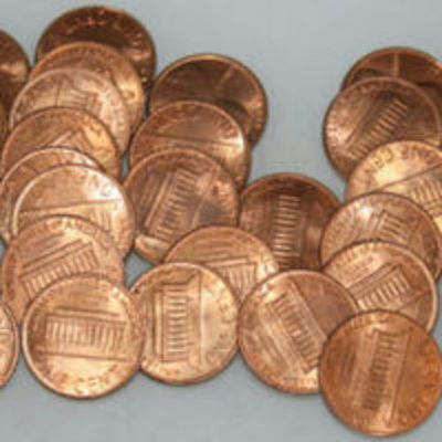 1973-D Roll Lincoln Memorial Cents Red Uncirculated BU 50 coins