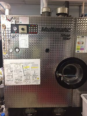 35 Lbs. PERC Multimatic Drycleaning Machine, in operation and good condition