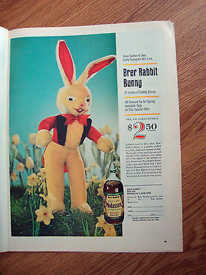 1963 Brer Rabbit Molasses Ad  Brer Rabbit Bunny $2.50