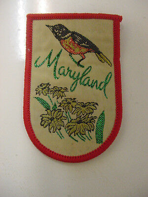 LOT OF 20 SOUVENIR TRAVEL PATCH - STATE OF MARYLAND  iron on patch -new