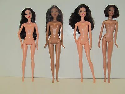 Lot of 4 Nude Barbie Dolls for OOAK