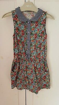 Girls NEXT Floral Playsuit age 18-24mths
