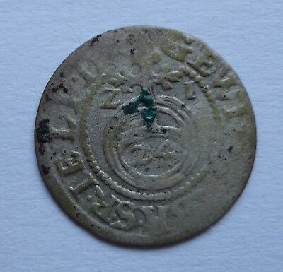 Lot 1 SILVER 1621 y. POLAND COIN 16Z1 Sigismund Medieval Europe SOLID 1587-1632