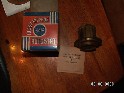 NOS Fulton Sylphon Autostat Model 71-F Dodge, Ford, Mercury Pass. Cars & Ford Tr
