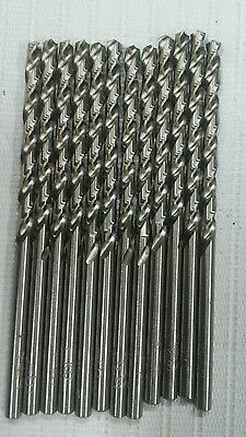 1/8 Inch Jobber Length Drill Bits Pack Of 12 Made In Usa