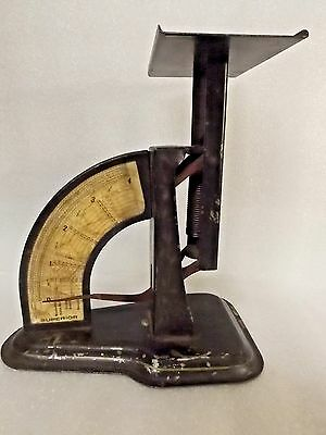 ORIGINAL antique vintage SUPERIOR POSTAL POST OFFICE price cost SCALES $9.95 nr
